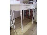 REDUCED PRICE - Amazing White Console TABLE.