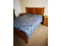 Solid Oak 5ft Kingsize Bed - Full Suite Available