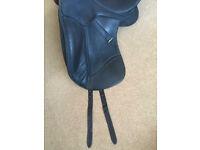 Dressage Saddle black
