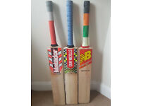 NEW or Used Top Range Good willow great cricket bats High Quality Ready to Play Pads Gloves Helmets