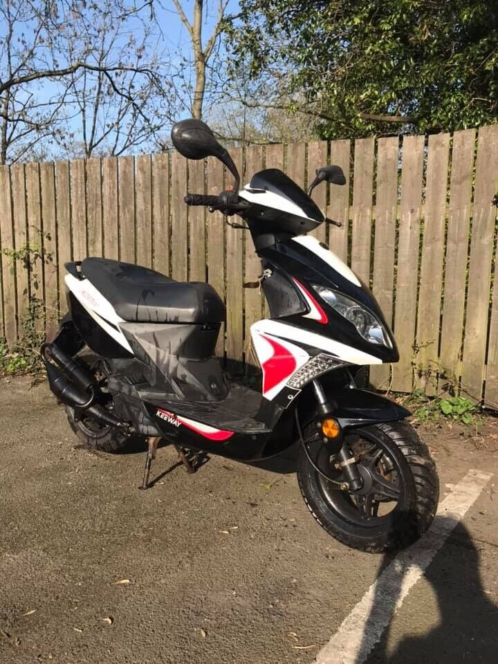 2012 KEEWAY FACT EVO 2 STROKE SCOOTER F ACT 50CC EVO FACT EVO MOPED In Catterick Garrison North Yorkshire Gumtree