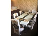 TURKISH TABLE😎 WITH 4 AND 6 CHAIRS😍GET IT NOW MEGA SALE