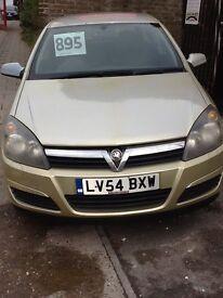 Vauxhall Astra club twinport 1.4cc 54 Reg