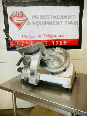 Hobart 2812 Manual Gravity Feed Meat Cheese Deli Slicer