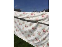 Dorma lined curtains