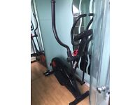 Cross trainer, used handful of times. Full digital monitor