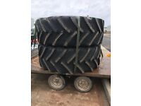 710 70 42 bkt agri max tyres 2 available 710/70/42