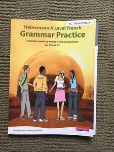 Heinemann A Level French Grammar Practice Mosman Park Cottesloe Area Preview