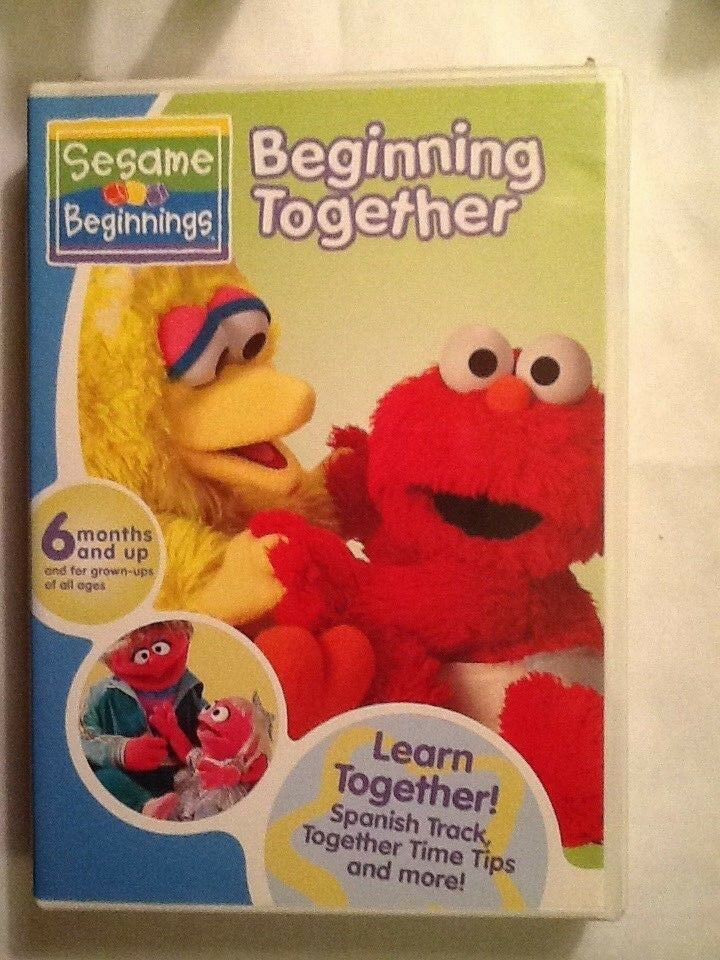 Sesame Beginnings Beginning Together - $4.25