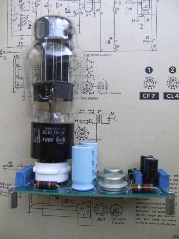 abbasaudio dual shunt voltage regulator, tube rectifier 6AS7G,TDA1541,PCM63