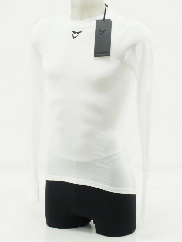 New! Cuore Unisex Cycling Long Sleeve Base Layer XS White