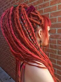 Synthetic and Natural Dreadlock Extensions in the North East.