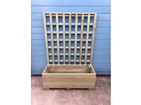 TRELLIS AND PLANTER FOR SALE