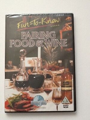 FUN- TO- KNOW PAIRING FOOD AND WINE DVD BRAND NEW SEALED. - Halloween Japanese Food