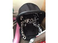 Baby car seat . Brill condition. Suitable from birth.