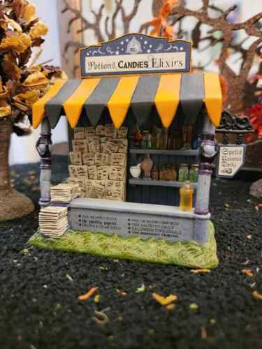 Dept 56 - Snow Village - Halloween - Spells & Potions Kiosk