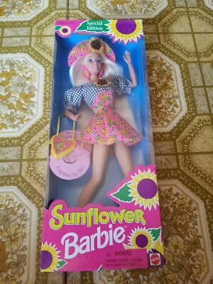 Sunflower Barbie Doll Special Edition Dated 1994 Mattel NRFB NEW!