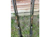 Wychwood maximiser carp rods