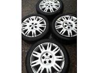 "17"" Ford Focus mk2, Mondeo, Kuga, S-Max, C-Max, Galaxy, Volvo, Jaguar alloy wheels (359)"