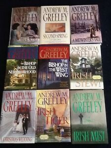 Andrew Greeley hard cover books