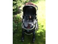 i Candy pram and pushchair
