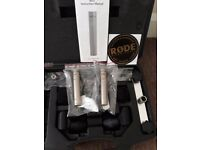Rode NT5 Matched Pair Condenser Microphones