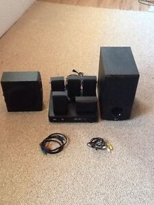 RCA HOME THEATRE SURROUND SOUND SPEAKERS
