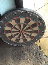 Very old dart board