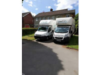 Professional removals in Holmer Green / single item delivery /students move with LUKE MAN VAN