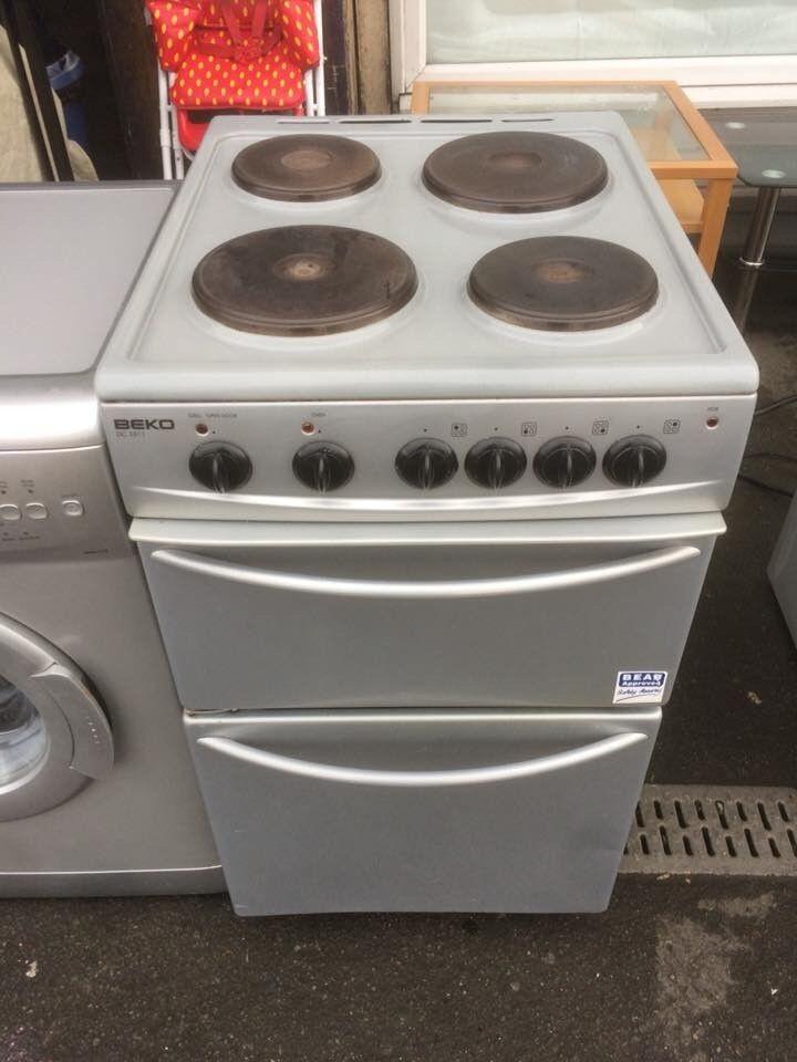 beko electric cooker 50cm wide