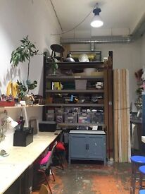 Studio Space in Hackney Downs Studios