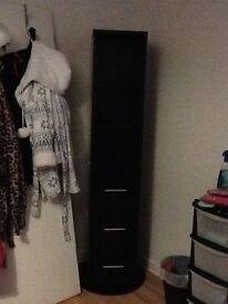 bedroom furniture - black gloss