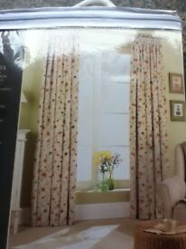 Curtains – 46W x 72L Brand New