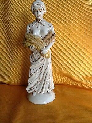 AQUAPLUS EXCLUSIV Die Frau und das Brot - Figur Bäckerei Werbefigur Deko ansehen