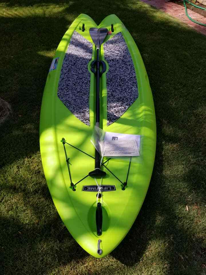 lifetime freestyle paddleboard brand new out of