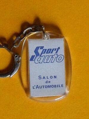 porte-clés du magazine SPORT-AUTO