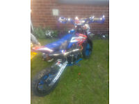 125 cc pitbike reg as a 50 i have key and greenslip and receipts for what its had