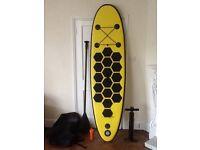 Aquaparx inflatable paddleboard