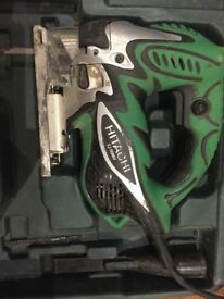 Hitachi CJ110MV Jigsaw 230V 720W NEEDS new blade