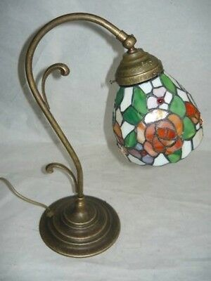 Lamp lampshade lampshade brass glass TIFFANY