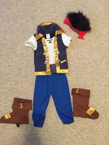 Jake and the Neverland Pirates costume size 3
