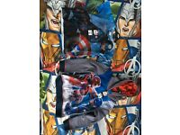 BRAND NEW BOYS 6-7 YEARS CAPTAIN AMERICA HOODY + TSHIRT JUST £8 ( £18 TAGS)