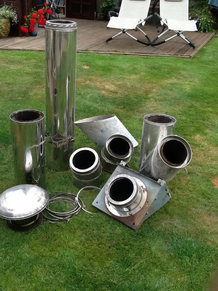 Nova twin wall chimney sections