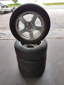 16 Inch VZ S Commodore Utility Alloy Wheels And Tyres Bayswater Bayswater Area Preview