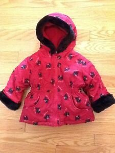 Kids Pretty Puppy jacket (black/red) West Island Greater Montréal image 1