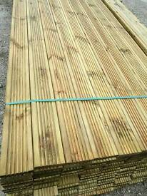 "Tanalised 5"" Decking (28mm x 120mm)"