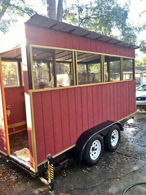 Very Clean 2016 - 7 X 14 Bbq Pit Used Barbecue Concession Trailer For Sale I
