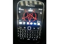 BLACK BERRY 9900 BOLD BLACK
