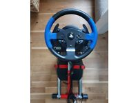 Thrustmaster T150 Force feedback wheel for PS4/PS3/PC + Wheelstand Pro foldable and adjustable stand