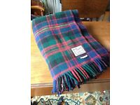 Classic Vintage Tartan Wool blankets - near Edinburgh